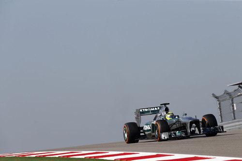 Neumático duro para Nico Rosberg