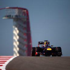 Sebastian Vettel sigue marcando el ritmo en Austin