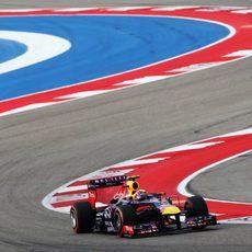 Mark Webber se quedó cerca de la pole