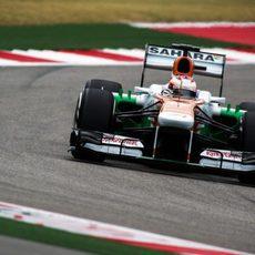 Paul di Resta se quedó cerca de la Q3 en Austin