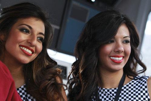 Belleza en el Gran Premio de Estados Unidos