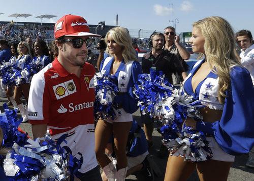 Fernando Alonso no pierde la concentración