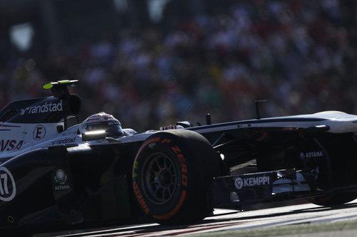 Valtteri Bottas, contento con los cambios en el FW35
