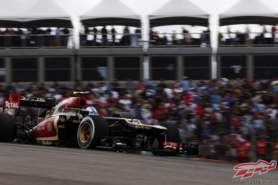 Romain Grosjean suma otro podio