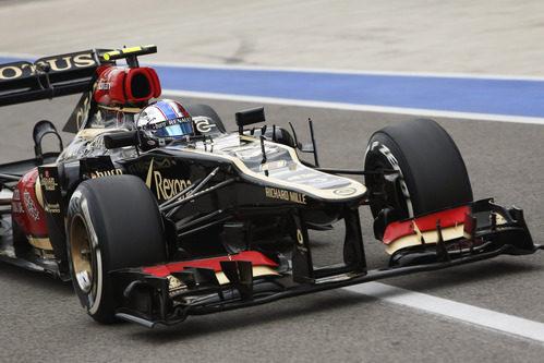Pitlane para Romain Grosjean