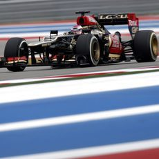 Heikki Kovalainen no pudo puntuar en Austin