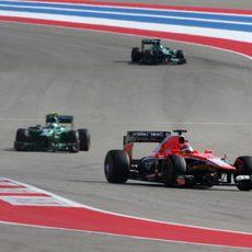 Jules Bianchi tuvo una buena salida y ritmo en Estados Unidos