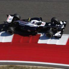 Primeros puntos del año para Valtteri Bottas