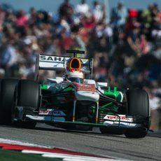 Paul di Resta no puntuó en Estados Unidos