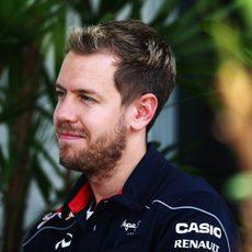 Nuevo look para Sebastian Vettel