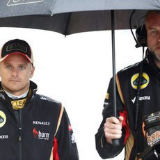 Paraguas para Heikki Kovalainen
