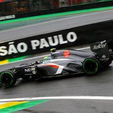 Esteban Gutiérrez se estrena en Interlagos