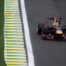 Sebastian Vettel se atrevió a probar el compuesto experimental