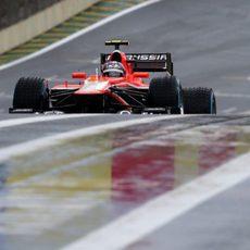 Rodolfo González se asoma con el Marussia