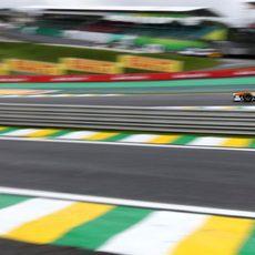 James Calado rueda en Interlagos