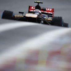 Daniil Kvyat a los mandos del Toro Rosso por segunda vez esta temporada