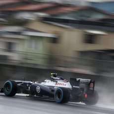 Rodaje para Valtteri Bottas en Interlagos