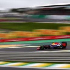 Mark Webber empezará cuarto en Brasil