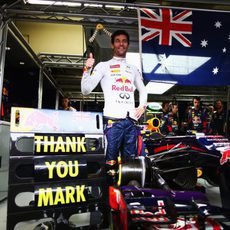 Red Bull se despide a Mark Webber
