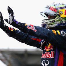 Sebastian Vettel señala sus nueve triunfos consecutivos