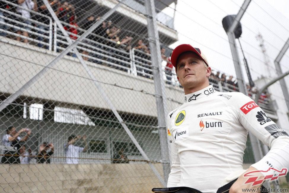 Heikki Kovalainen, antes de la carrera