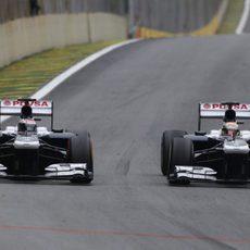 Pastor Maldonado y Valtteri Bottas, emparejados