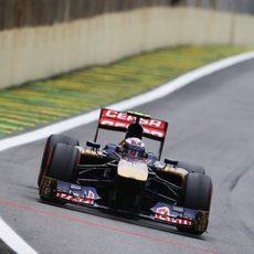 Un puntito para Daniel Ricciardo en Brasil