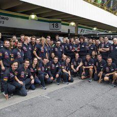 Foto de equipo en Toro Rosso