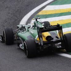 Giedo van der Garde acabó 18º el GP de Brasil