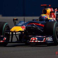 Webber no logra atacar el campeonato