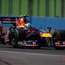 Vettel no puede acabar