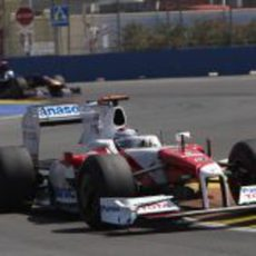 Trulli en el GP de Europa