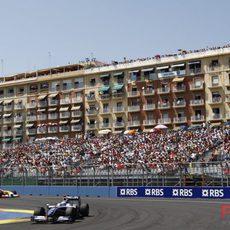 Rosberg en Valencia