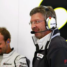 Brawn y Barrichello