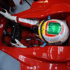 Badoer en el Ferrari