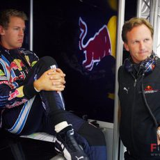 Vettel preocupado