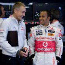 Hamilton y Whitmarsh