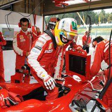 Badoer entra en el Ferrari