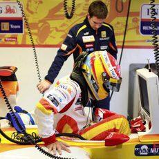 Alonso entra en el Renault