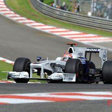 Kubica en la clasificación