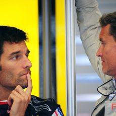 Webber y Coulthard