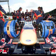 Gran Premio de Bélgica 2009: Carrera