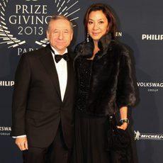 Jean Todt y Michelle Yeoh, anfitriones de lujo