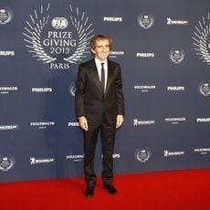 Alain Prost acude a la Gala FIA en Paris