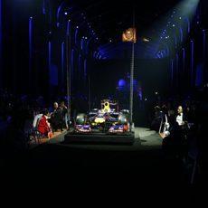 El Red Bull RB9, protagonista