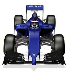 Render frontal del nuevo Williams FW36