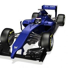 Render del nuevo Williams FW36