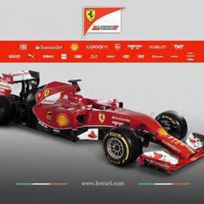 Ferrari F14-T, el Ferrari de 2014