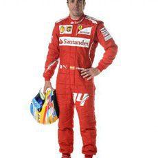 Fernando Alonso, piloto Ferrari en 2014