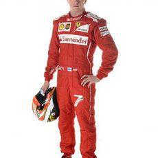 Kimi Räikkönen, piloto Ferrari en 2014